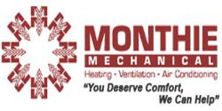 Website for Monthie Mechanical Inc.