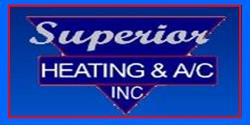Website for Superior Heating & Air Conditioning, Inc.