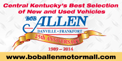 Website for Bob Allen Motor Mall