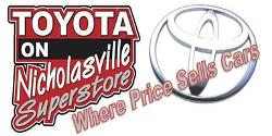 Website for Toyota On Nicholasville