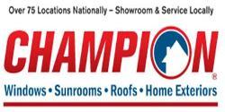 Website for Champion Window Company of Lexington, LLC