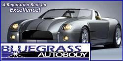 Website for Bluegrass Auto Body - South