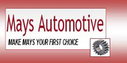 Website for Mays First Choice Automotive, LLC