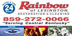 Website for Rainbow Restoration & Cleaning of Lexington