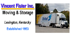 Website for Vincent Fister, Inc.