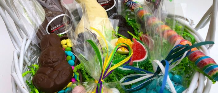 Cocoa Mill Easter Basket