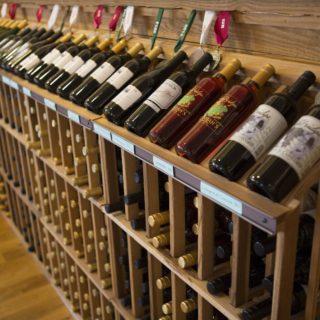Lexington VA Rockbridge Vineyard Wine Rack