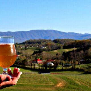 Natural Bridge VA, Great Valley Farm Brewery, beer