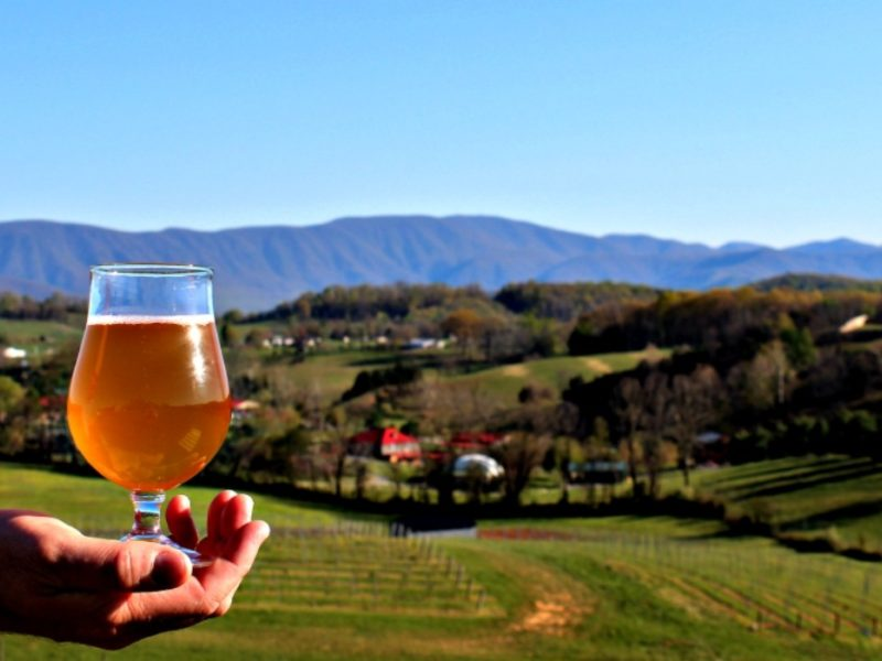 Lexington VA, Great Valley Farm Brewery, beer