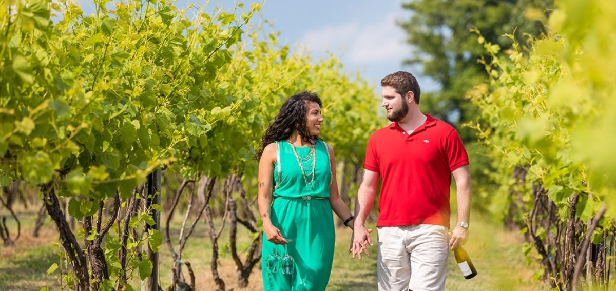 Vineyard Couple Weisler