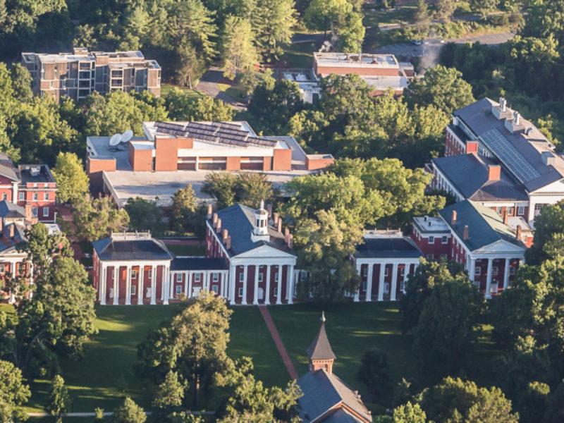 Lexington VA View of W&L Campus