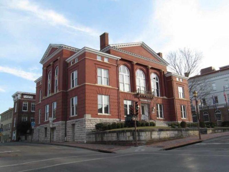 Lexington VA Old Courthouse