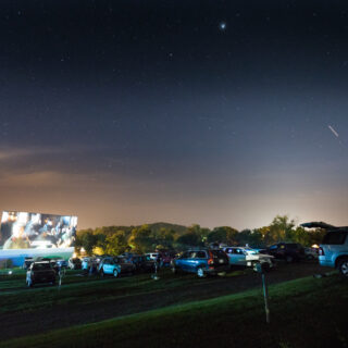 The Show Goes On at Hull's Drive-In