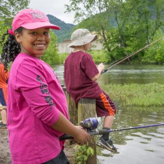 Lexington VA, Fishing, Glen Maury Park
