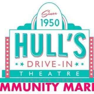 Community Market @ Hull's Drive-In