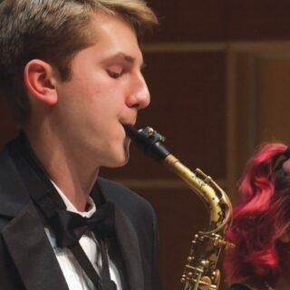 The University Jazz Ensemble and Vosbein Magee Big Band