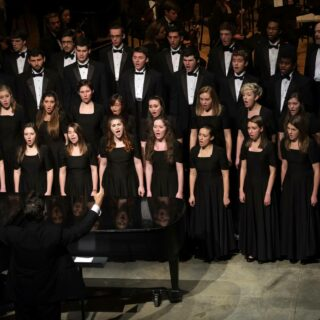 The University Singers, The Glee Club, and Cantatrici