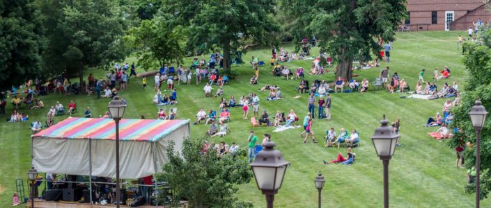 Friday's Alive in Davidson Park