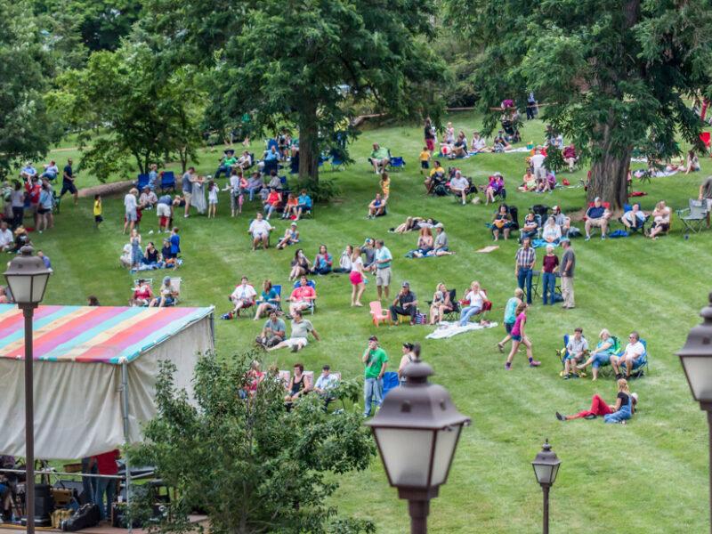 Lexington VA Fridays Alive Davidson Park