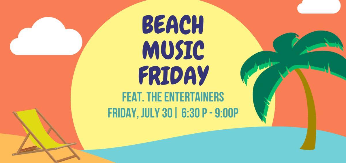 Beach music friday