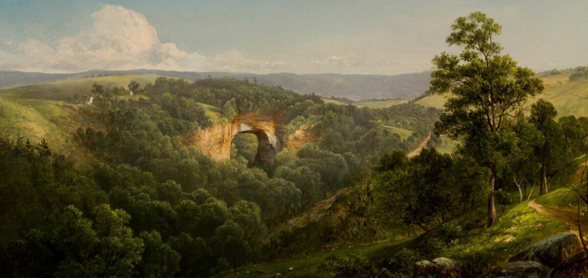 Natural-Bridge-Painting-David-Johnson