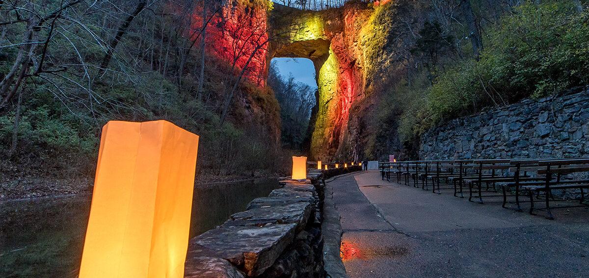 Natural Bridge Luminary2016 Steve Shires sm