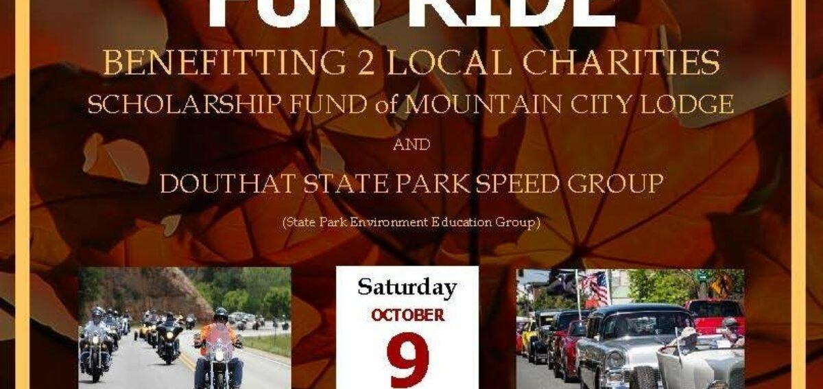 Fall ride flyer