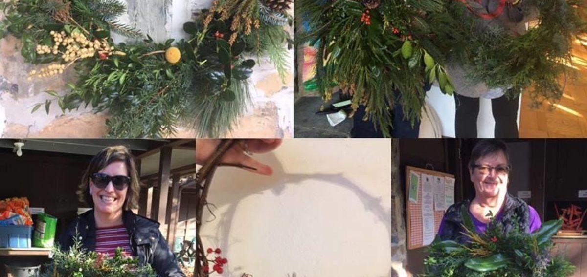 Wreath Making Workshop At Boxerwood
