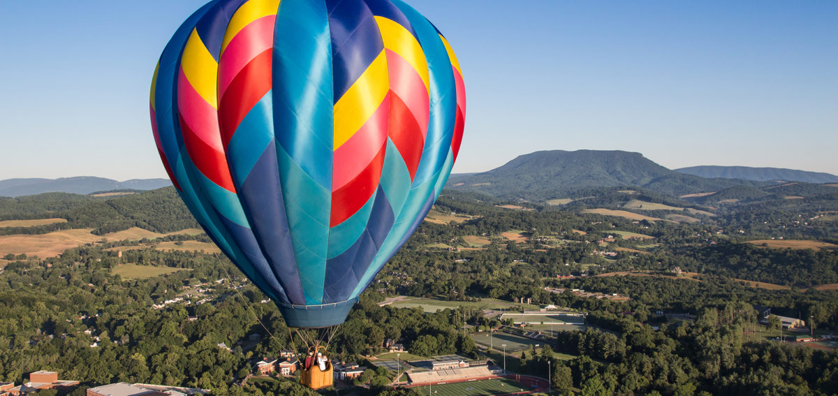 Balloon Over House Mt