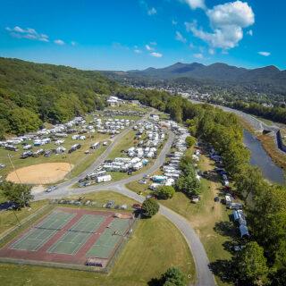 Lexington VA Camping Glen Maury Park Buena Vista