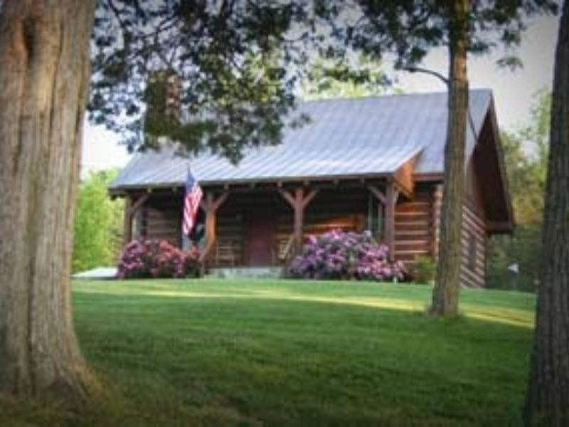 Bradshaw 39 s log cabin lexington virginia for Cabin cabin vicino a lexington va