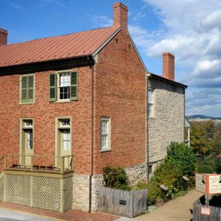 Lexington VA Stonewall Jackson's Home