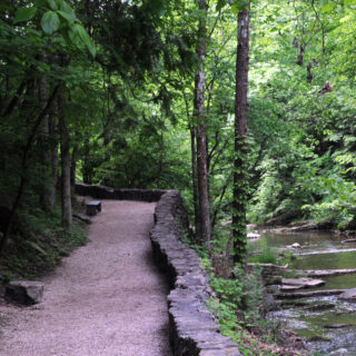 Natural Bridge VA Cedar Creek Nature Trail