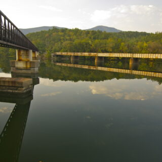 James River AT Foot Bridge