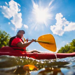 Kayaking James River Lexington VA