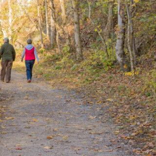 Fall Hiking Lexington VA