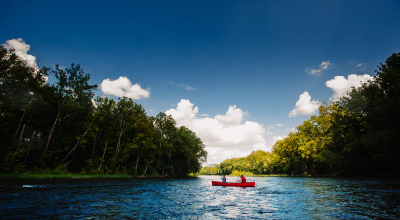 Canoe James River photo by Sam Dean