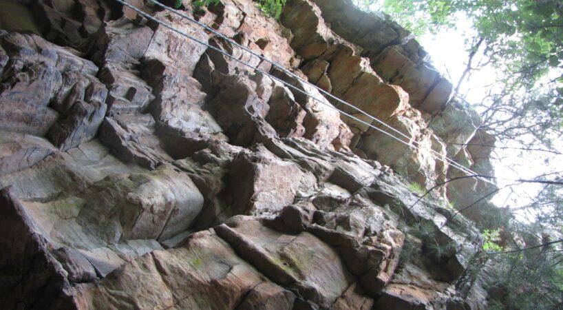 Climb Maury River Wall