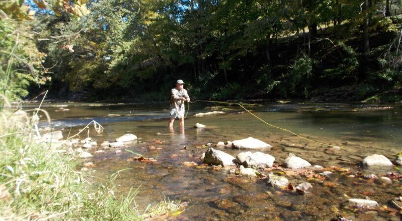 Fishing Maury River, Ben Salem Wayside