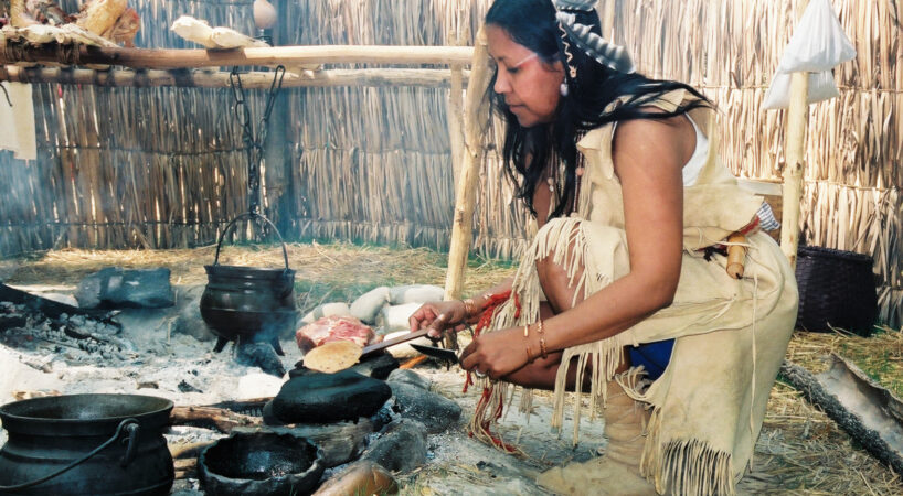 Monacan Village Life