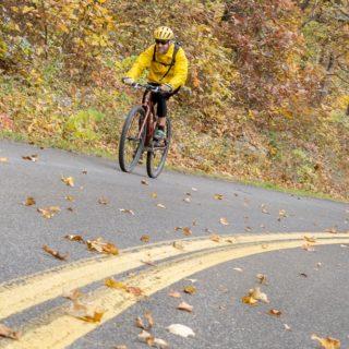 Biking Blue Ridge Parkway, Lexington VA
