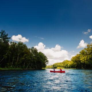 Lexington VA, canoeing on the James River