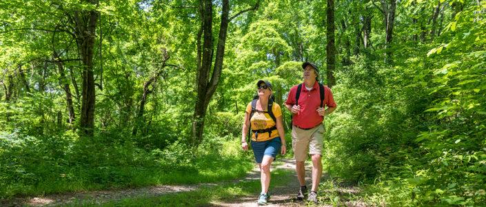 Hiking the Appalachian Trail. Chris Weisler Photo.