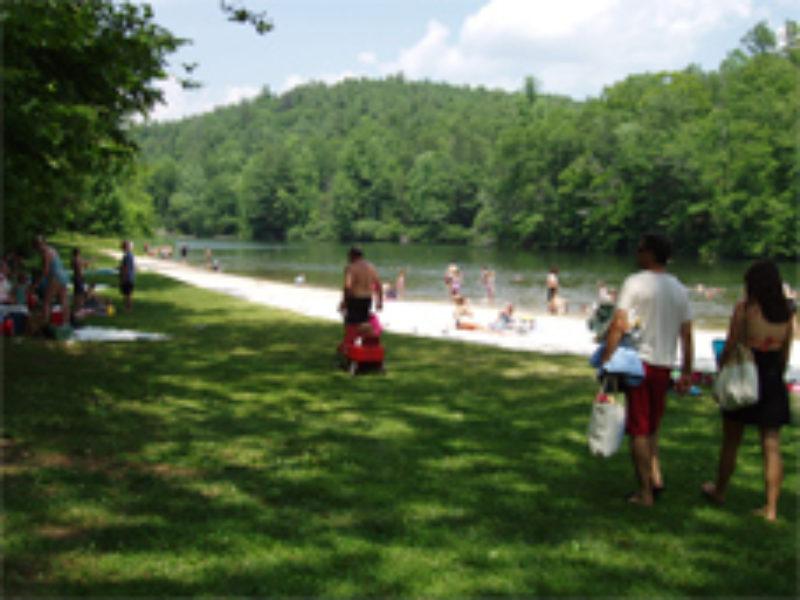 Lexington VA Natural Bridge Cave Mountain Lake
