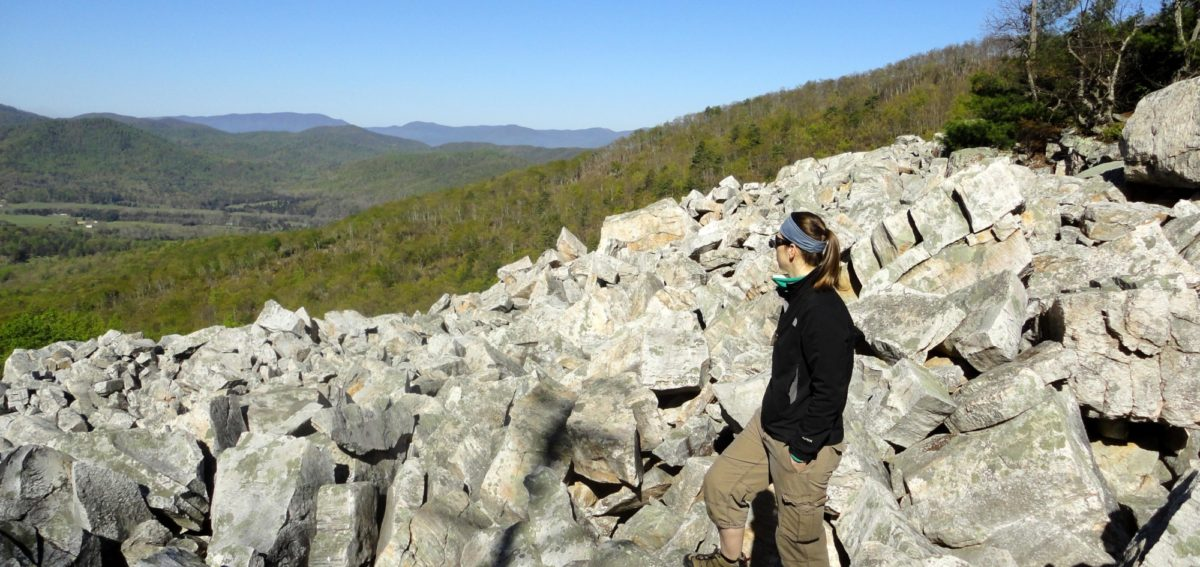 Devils Marbleyard Hiking