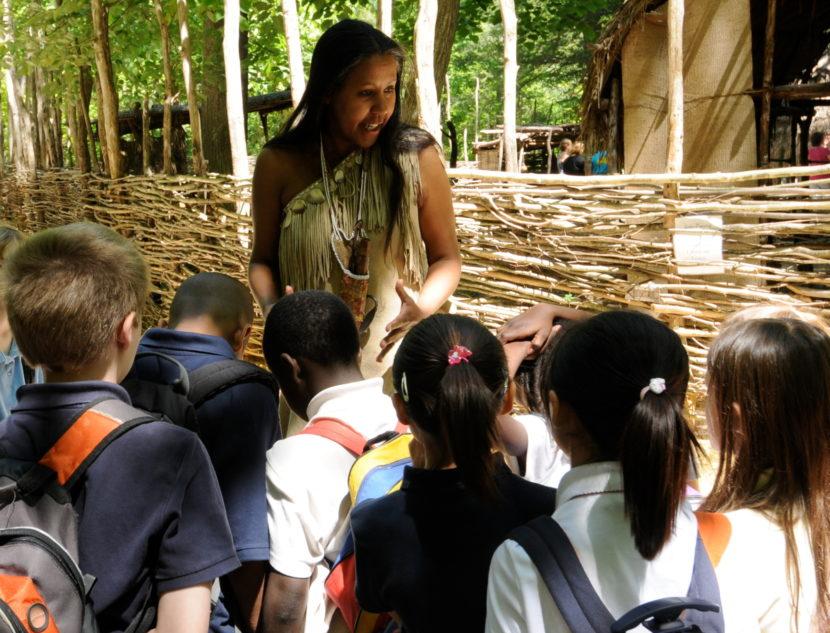 Monacan Indian Village at Natural Bridge State Park