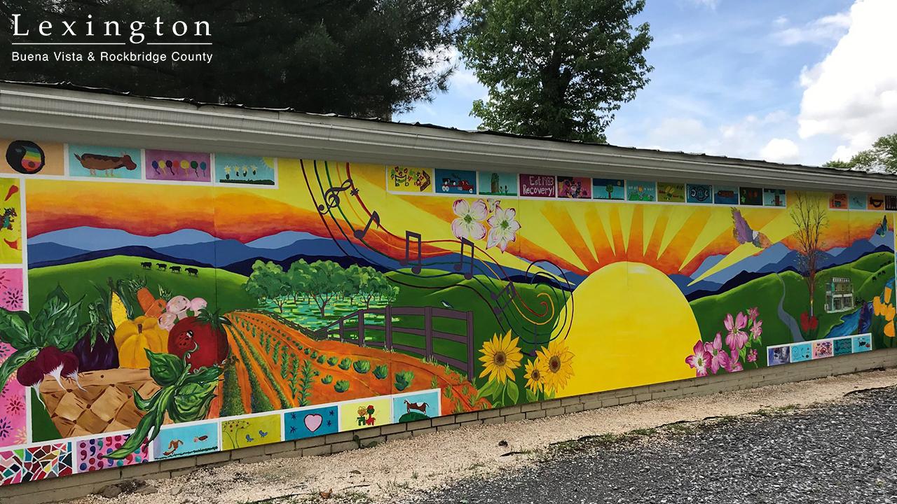 Buena Vista, VA Mural