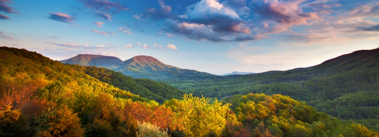House Mountain in Fall by Brent McGuirt