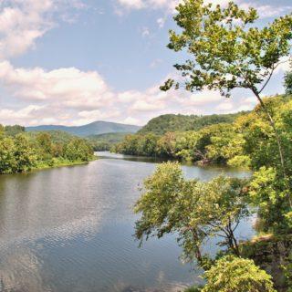 Lexington VA River Shot