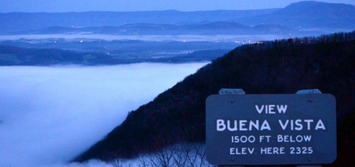 Blue Ridge Parkway Buena Vista
